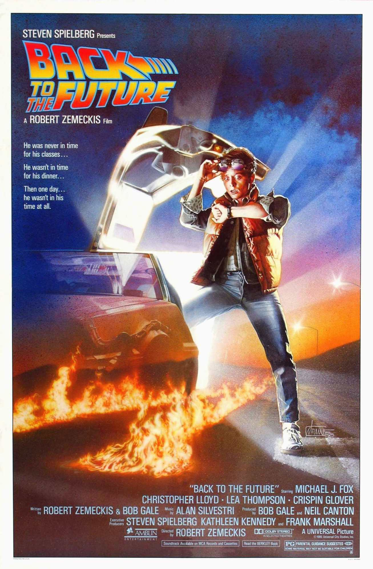 """PAST: OUTDOOR FILM: The Final """"Screen on the Green"""" will feature the classic """"Back to the Future"""" on MON, August 10, film screens at dusk, around 8:30pm, on The National Mall, Free"""