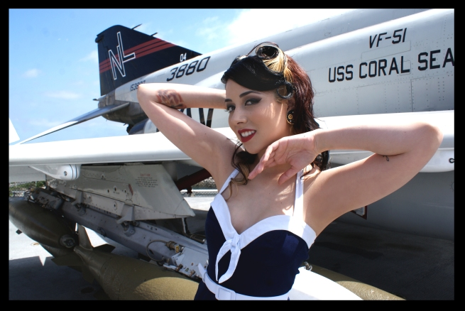 Ashley and the F-4