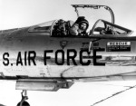 Yeager in the cockpit of the NF-104