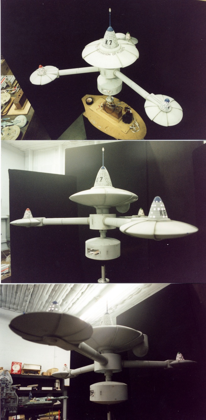 K7 Space Station Paper Model - Pics about space