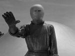 our introduction to Klaatu, (Michael Rennie)