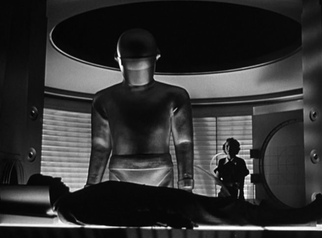 brought back from the dead by Gort and this marvelous healing machine