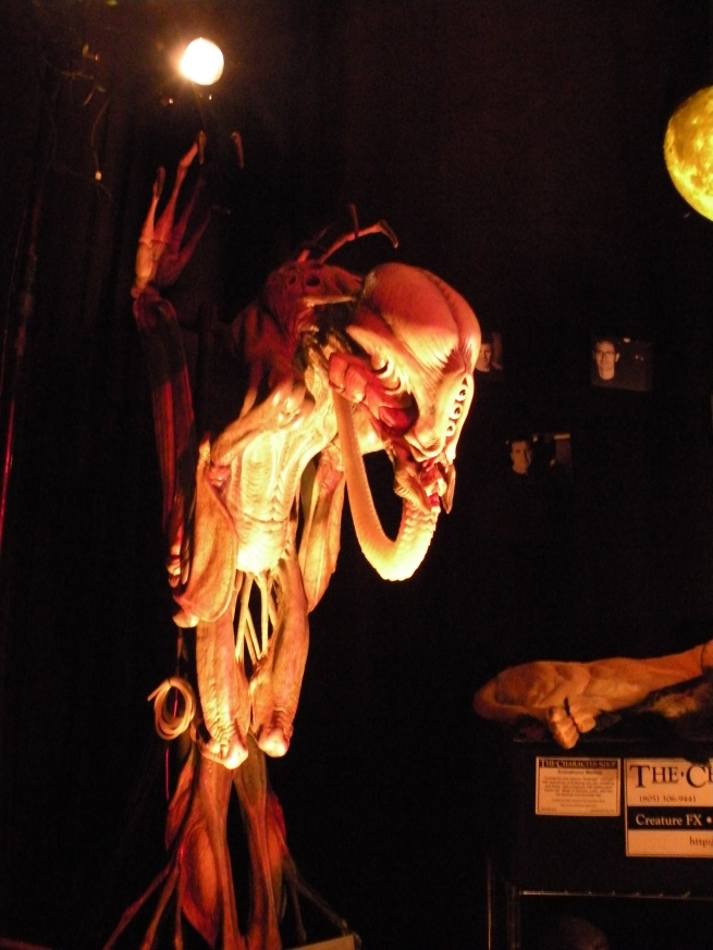 There was also a horror museum and this was one of the pieces on display