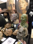 some pieces from one of the many booths