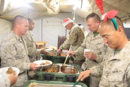 Christmas with the Servicemen and women