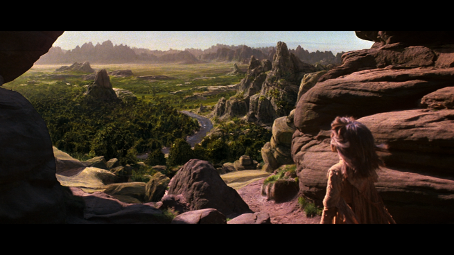 one of ILM's incredible matte shot