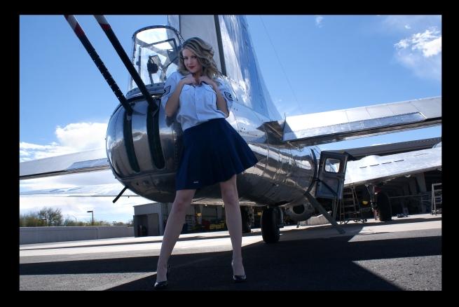 Kay Jay and the B-17