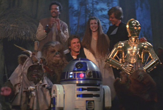 and to end it all we were treated to the atrocious Zug Zug song!!!!! OH what a world, Happy 30th jedi